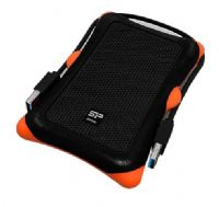 Silicon Power 2.5 inch 1TB USB 3.0 SP Rugged Armor A30 Shockproof External Portable Hard Drive Black - New